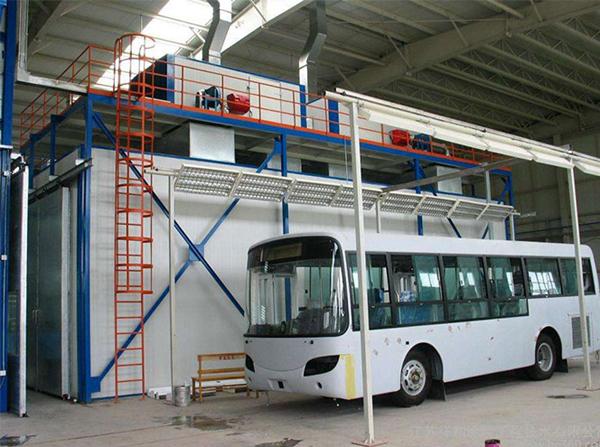 客车涂装生产线设备